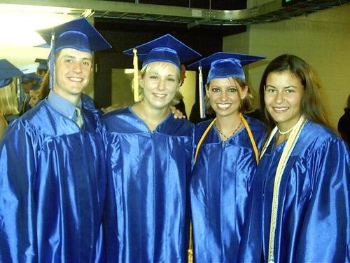 <center>Graduation!